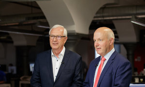 Senátorský duel: Drahoš a Fischer nakládali Zemanovi
