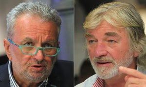 Sociolog Gabal a herec Kratina: O uprchlících, penězích a kre*énech na D1