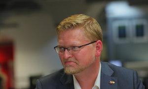 Lidovecký kandidát, který poléval stánek SPD? Podle Bělobrádka ojedinělý exces