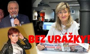 Bez urážky Zuzany Bubílkové: Kdo zuří za Gotta? A má Petra Janů zničený obličej?