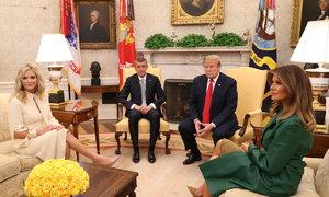 Andrej Babiš u Donalda Trumpa v Bílém domě: Co si řekli?