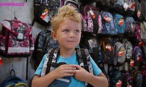Testujeme s dětmi: Jak vybrat školní aktovku nebo batoh?