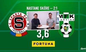 SÁZKAŘSKÉ TIPY: Vyhraje konečně Sparta? Zvládne Slavia skolit neoblíbený Jablonec?