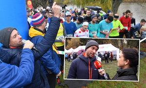 Václav Neužil odstartoval iSport LIFE závod a rozpovídal se o běhu: Díky Zátopkovi k němu mám vztah