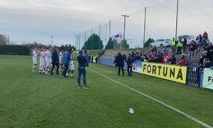 Nováček z Líšně slaví povedený podzim v druhé lize se svými fanoušky