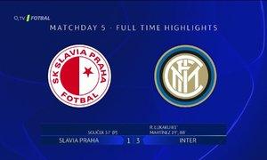 SESTŘIH LM: Slavia - Inter 1:3. Pražany podržel ve hře VAR, hosté trestali v závěru