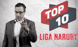 TOP 10 LIGA NARUBY: pokropený reportér a ležící Olayinka. A kdo je číslo 1?