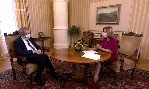 Zeman promluvil o krizi kvůli koronaviru v ekonomice. Čílil se kvůli zhovadilosti