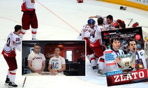 Poslední hokejové zlato. Velké vzpomínání k němu najdete v pátečním Sport Magazínu