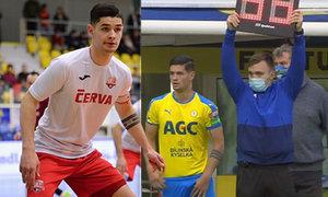 Futsalista Černý debutoval ve fotbalové lize za Teplice