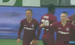 Karviná - Sparta: Dočkalův první gól po návratu na Letnou! Zvyšuje na 3:1