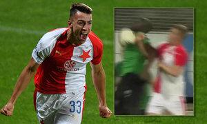 Příbram - Slavia: Musa prorazil beton! 1:0 pro sešívané, pomohl Zima rukou?