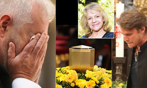 CELÝ ZÁZNAM: Zádušní mše za Evu Pilarovou (†80): Vzkaz Gottové a dav VIP hostů