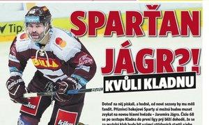 Jágr a Sparta? Z marketingového hlediska dobrý tah, říká hokejový expert deníku Sport Pavel Bárta