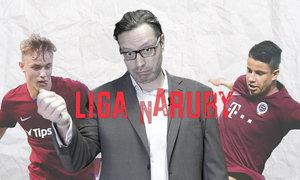 LIGA NARUBY: Baroš (skoro) jako Totti, rutinéři Hložek s Karabcem