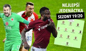 TOP jedenáctka fotbalové sezony: Stanciu, Kanga, vynikal Malinský