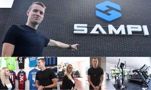 Království Sampi. Jankto ukázal Báře esportové sídlo za 30 milionů