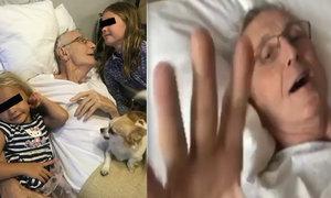 Nejdojemnější video: Olga zveřejnila poslední záběry Jiřího Menzela (†82)