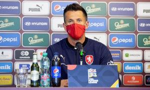 Česko - Skotsko: Holoubek byl na hráče hrdý. Mandous si na penaltu věřil