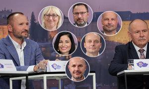 Koronavirus a sliby voličům: Co řekli krajští kandidáti v debatě Blesku?