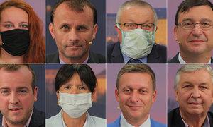 Zdravotnické sliby a apel na voliče: Co politici ve 30 sekundách vzkázali voličům