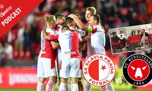 iSport podcast: Postoupí Slavia do LM? Proč bude Midtjylland těžší soupeř než Kluž?
