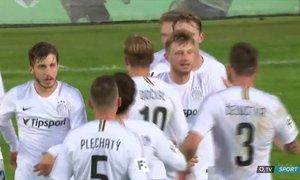 Příbram - Sparta: První gól po návratu! Krejčí zužitkoval Karlssonův výborný centr, 1:2