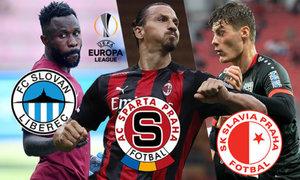 Evropská liga: Sparta vs. Zlatan, Schick vyzve Slavii. Nepříjemní soupeři pro Liberec