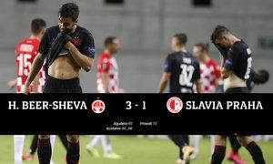 Beer Ševa - Slavia 3:1. Hovorka neměl svůj den, v Izraeli přišlo selhání