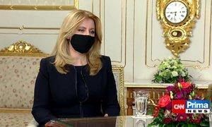 Čaputová o Česku a koronaviru: Situace je vážná, ale ne odstrašující
