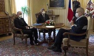 Zeman jmenoval Blatného ministrem a dal mu radu do funkce