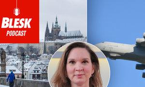 Blesk Podcast: Máme chladnější počasí díky utlumené letecké dopravě? Odhalila to meteoroložka Honsová