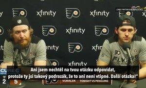 Voráček se pustil do novináře: Stejně budeš psát ty zku*vené sračky!
