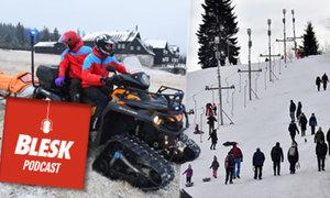 Blesk Podcast: Náčelníci horských služeb bijí na poplach. Lidi lezou v teplákách a teniskách do hor