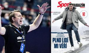 Sport Magazín: Jícha, Jágr i Satoranský. Navíc nová grafika, lepší papír a více stran!