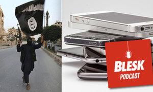 Blesk Podcast: Můžou za teroristické útoky moderní technologie? Giganti je omezují, říká odborník