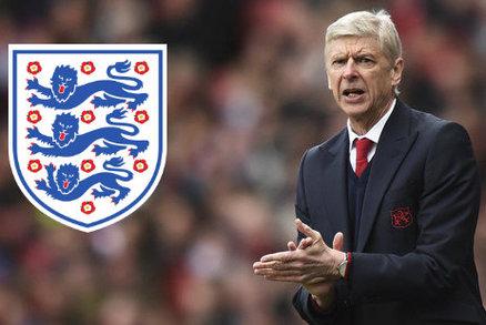 Trenér Arsenalu Arséne Wenger by mohl příští rok převzít anglickou reprezentaci
