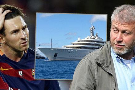 Majitel Chelsea Roman Abramovič chce Lionela Messiho, měl se dokonce sejít s jeho otcem na luxusní jachtě