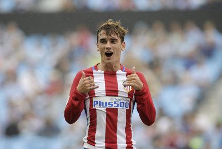 Kanonýr Atlétika Madrid Antoine Griezmann