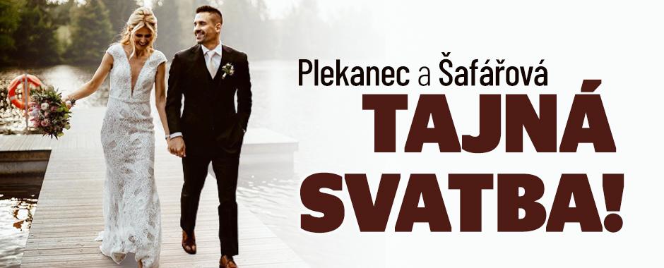 Tajná svatba Tomáše Plekance a Lucie Šafářové