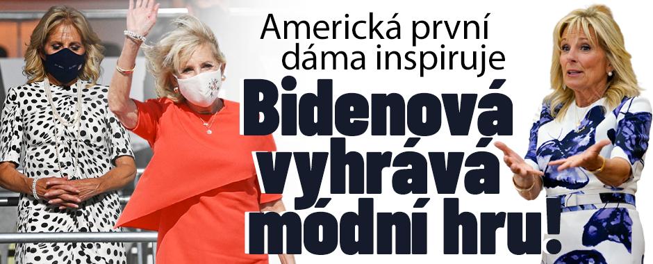 Bidenová vyhrává módní hru: Nečekaně inspirativní styl!