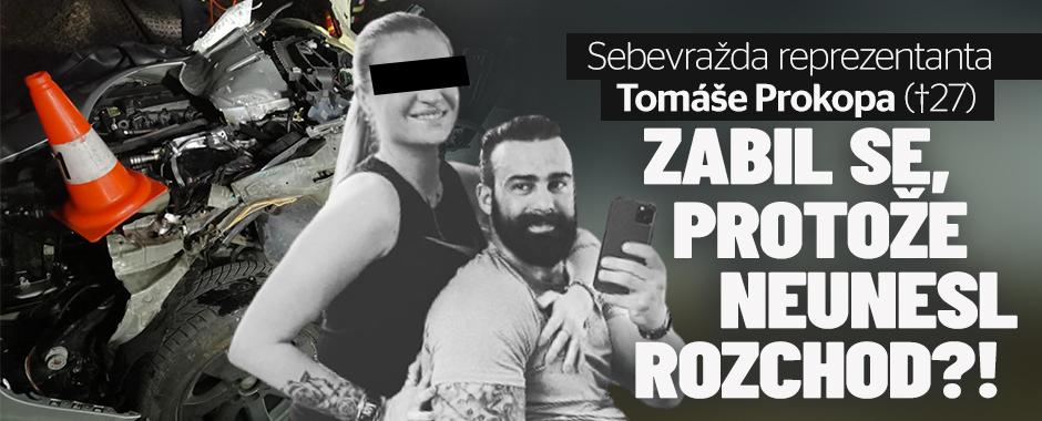 Sebevražda reprezentanta Tomáše Prokopa: Neunesl rozchod?!