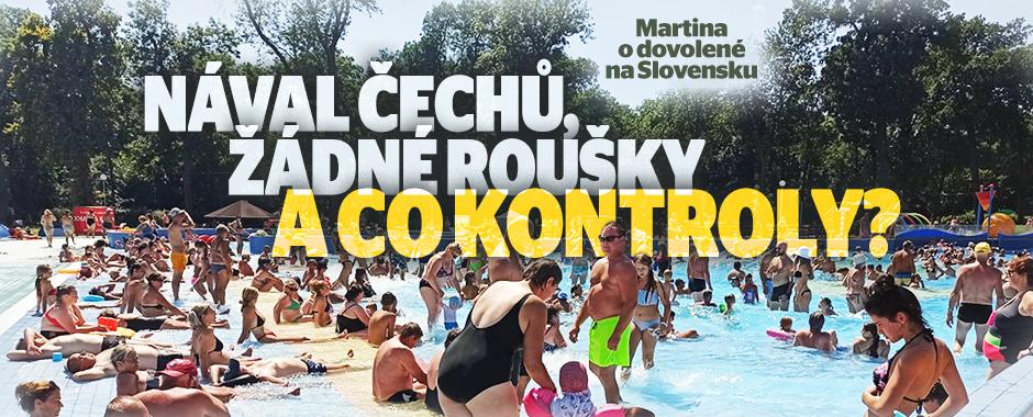 Dovolenkáři na Slovensku: Tlačenice v bazénu a záplava Čechů