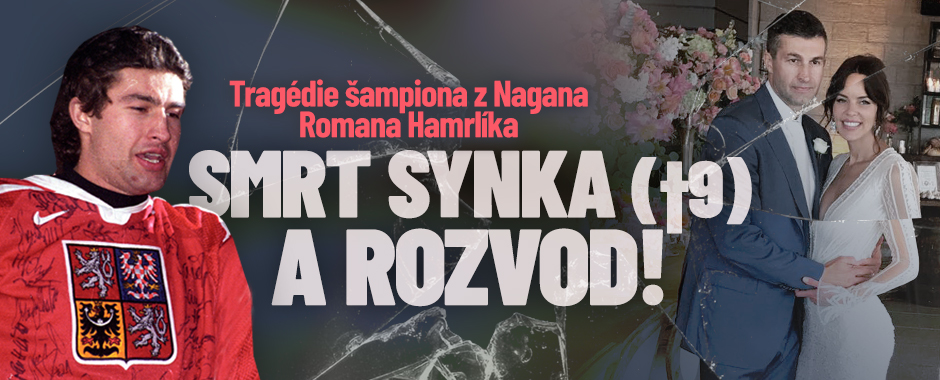 Dvojité neštěstí Romana Hamrlíka: Rozvod a mrtvý syn!