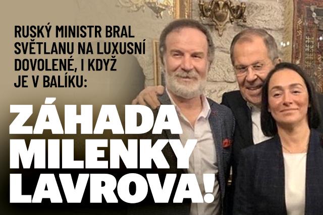 Tajná milenka ruského ministra: Lavrov ji bral na dovolené