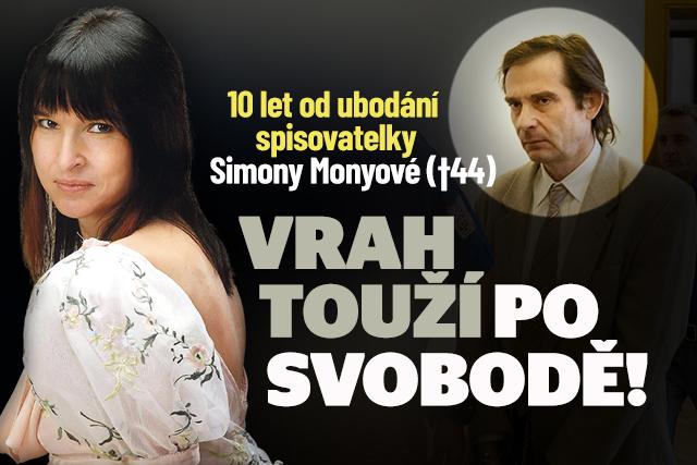 Simona Monyová zemřela před 10 lety: Vrah touží po svobodě!