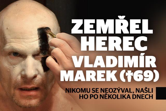 Zemřel herec Vladimír Marek (†69): Bouřlivák s duší snílka