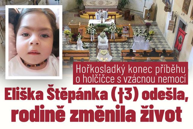 Eliška (†3) s vzácnou nemocí odešla, rodině změnila život