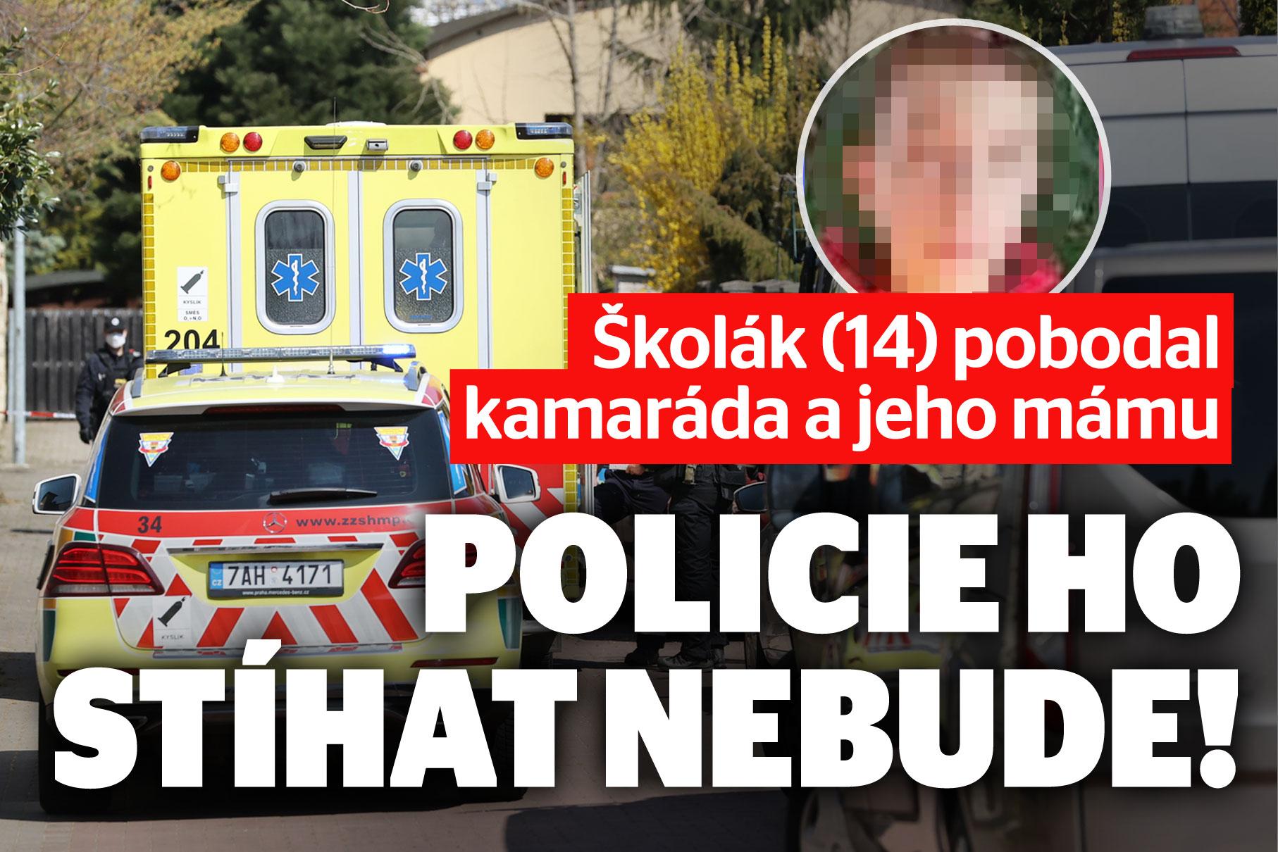 Kluk (14) pobodal mámu a syna: Policie zastavila stíhání