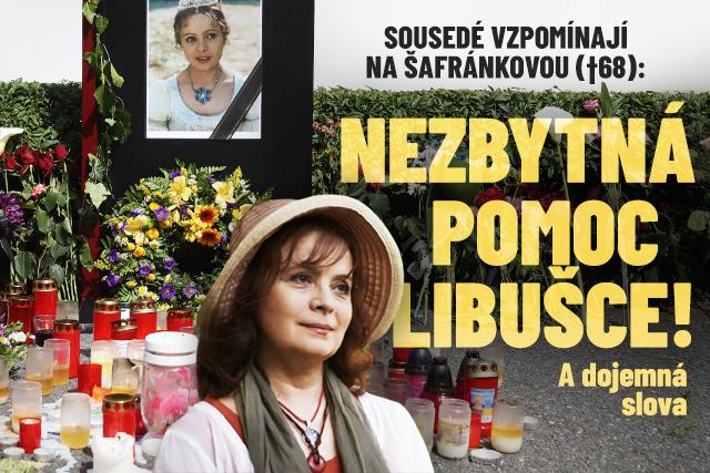 Sousedé vzpomínají na Šafránkovou (†68): Pomoc Libušce!